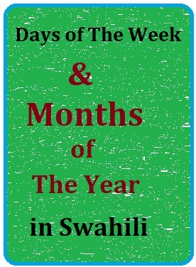 Swahili lesson